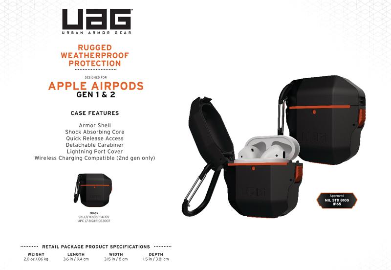 Vỏ ốp Airpods UAG Hard Case