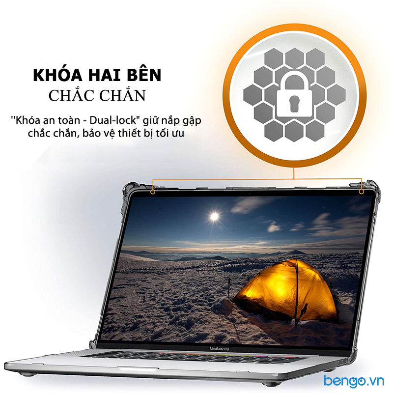 "Ốp bảo vệ MacBook Pro 16"" 2019 UAG Plyo"