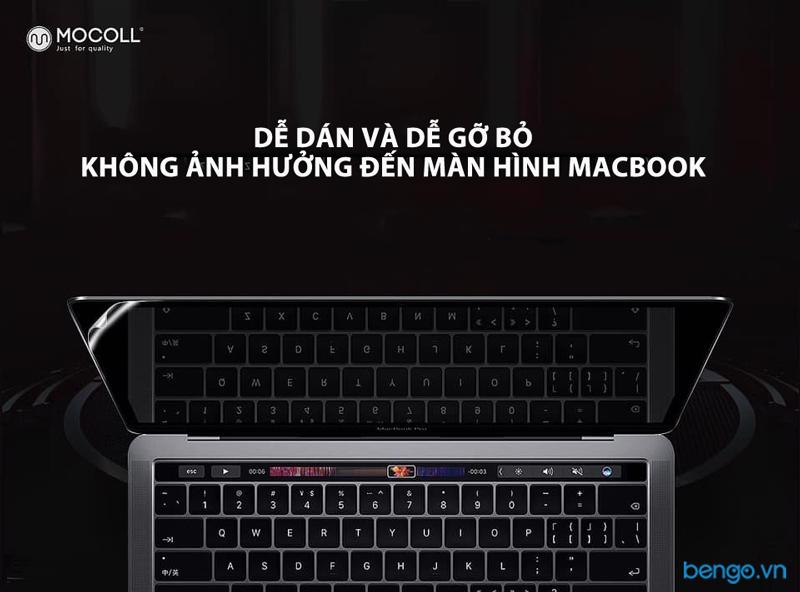 """Dán màn hình Macbook Pro 13"""" 2016 - 2019 MOCOLL Premium film"""