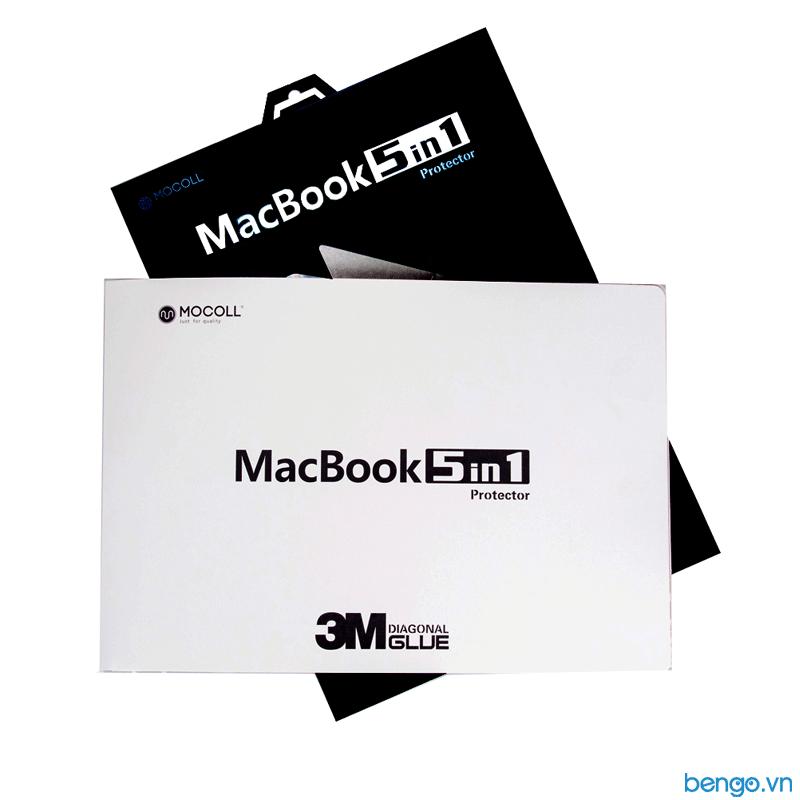 """Bộ dán Full MOCOLL 5 in 1 cho MacBook Pro 13"""" 2020"""