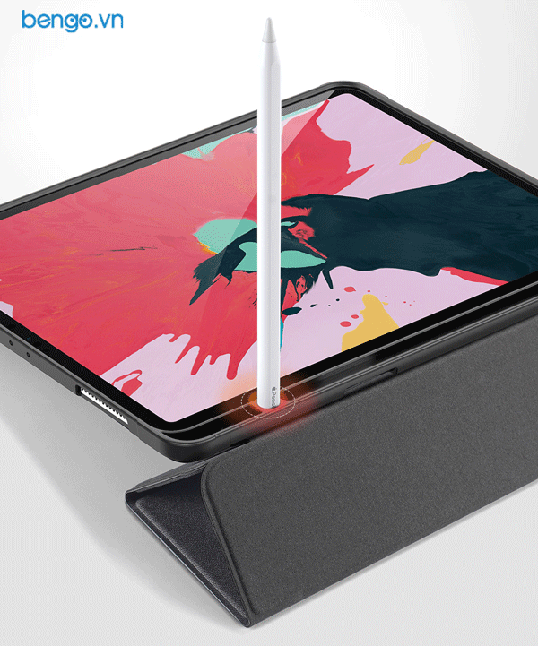 "Bao da iPad Pro 11"" 2020 DUX DUCIS DOMO with Pencil Holder"