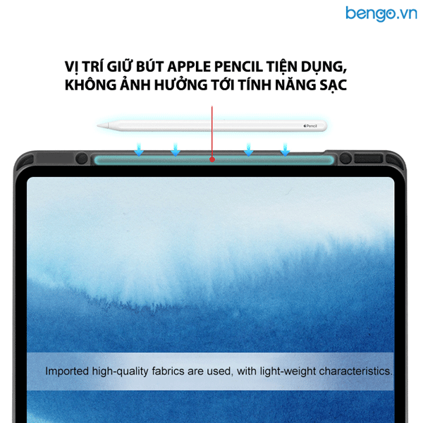 "Bao da iPad Pro 11"" 2020 MUTURAL with Pencil Holder"