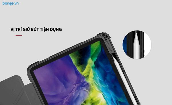 "Bao da iPad Pro 11"" 2020 NILLKIN Bumper Leather with Pencil Holder"