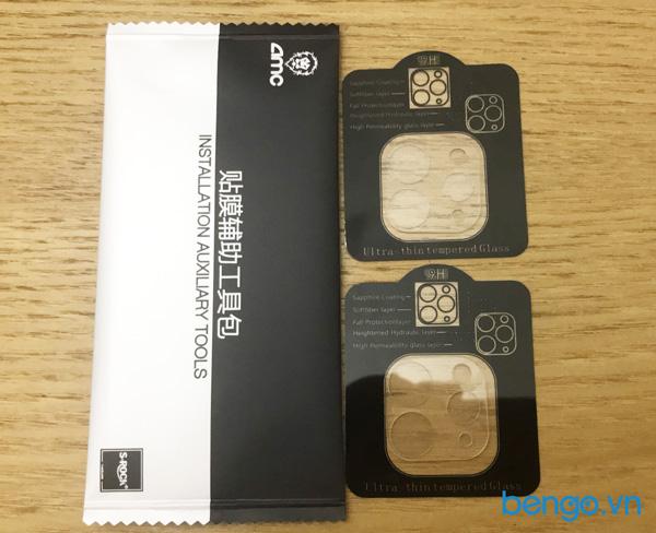 """Dán cường lực bảo vệ camera iPad Pro 11""""/Pro 12.9"""" 2020 AMC (Hộp 2 miếng)"""