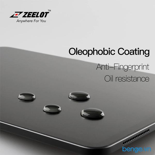 Dán cường lực iPad 9.7'' 2018/2017/Air 2 Zeelot PureGlass 2.5D Chống vân tay