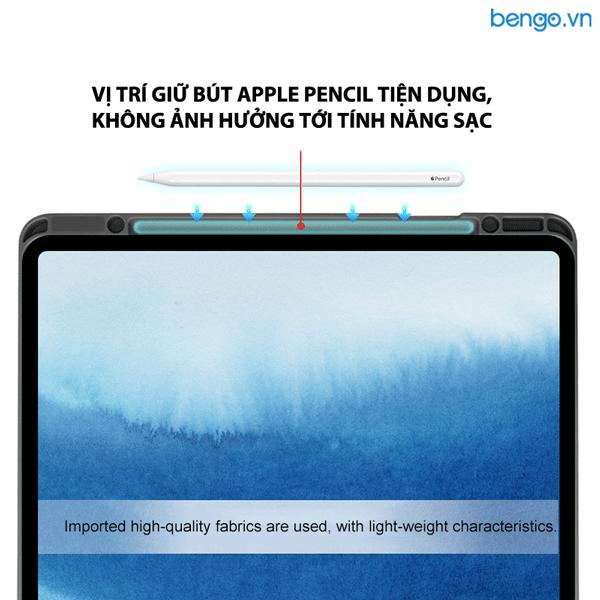 Bao da iPad Air 4 2020 MUTURAL with Pencil Holder