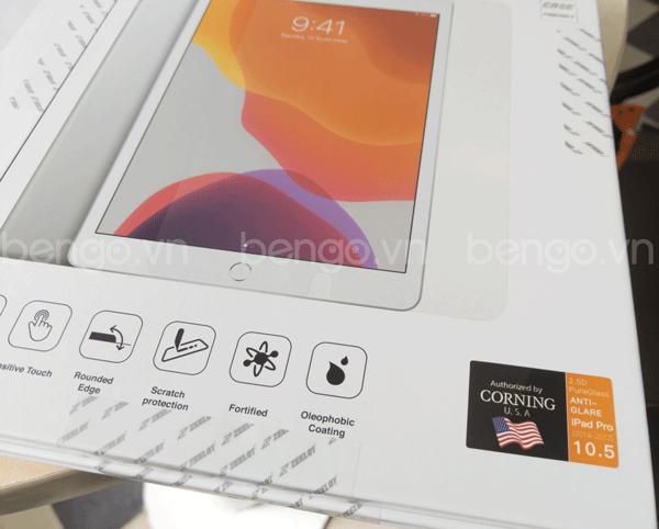 Dán cường lực iPad Air 10.5 2019/Pro 10.5 Zeelot PureGlass 2.5D Chống vân tay