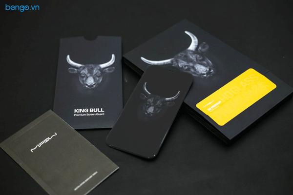 Dán cường lực iPhone 12 Pro Max MIPOW Kingbull HD (2.7D) Premium chống nhìn trộm