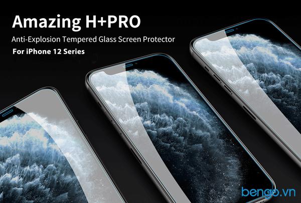 Kính cường lực iPhone 12 Pro/iPhone 12 Nillkin Amazing H+ Pro