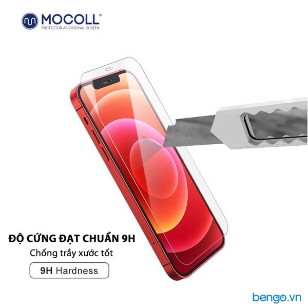 Dán cường lực iPhone 12/12 Pro MOCOLL 2.5D Full màn hình Clear