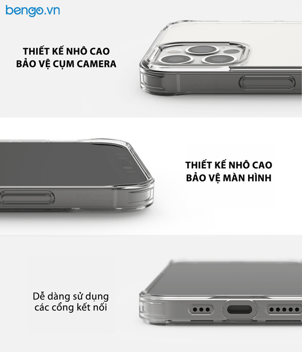 Ốp lưng iPhone 12 Pro Max RINGKE Fusion