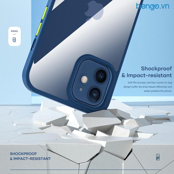 Ốp lưng iPhone 12 Pro Max ROCK Guard Pro Protection Case