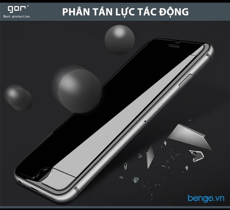Dán cường lực màn hình + Mặt lưng vân carbon iPhone SE 2020 GOR (Hộp 3 miếng)