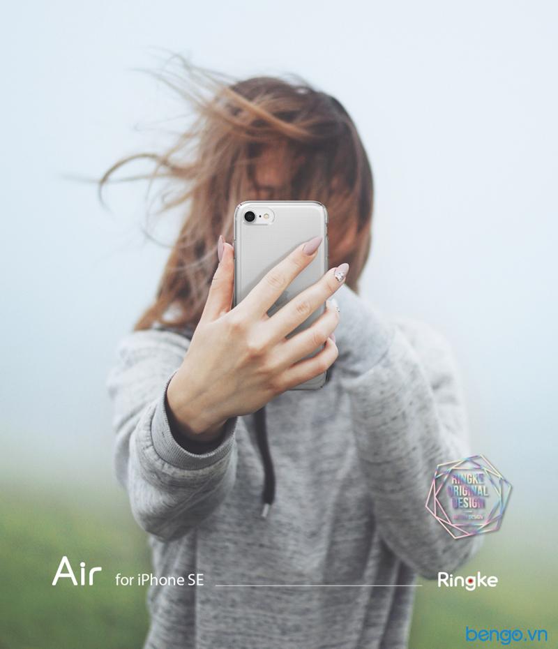 Ốp lưng RINGKE Air cho iPhone SE 2020