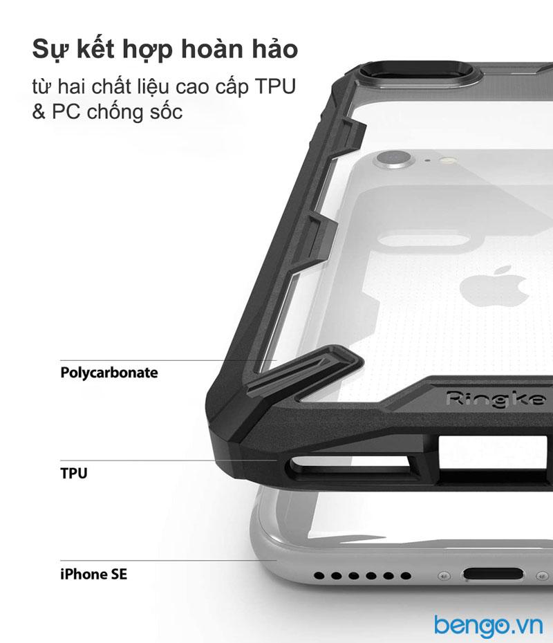 Chất liệu cao cấp của ốp lưng iPhone SE 2020 Ringke