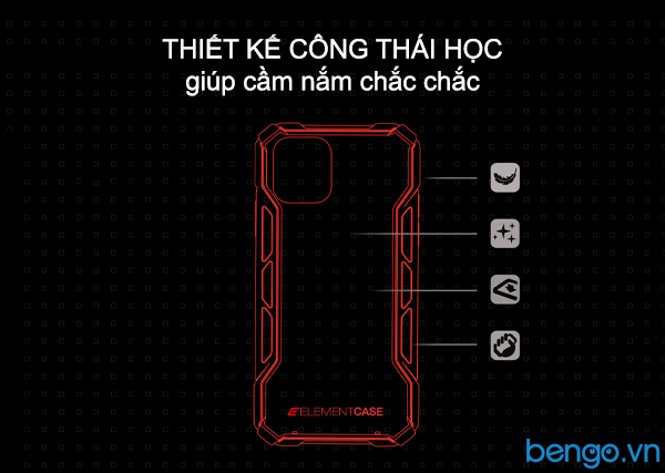 Ốp lưng iPhone 11 Pro Max Element Rally