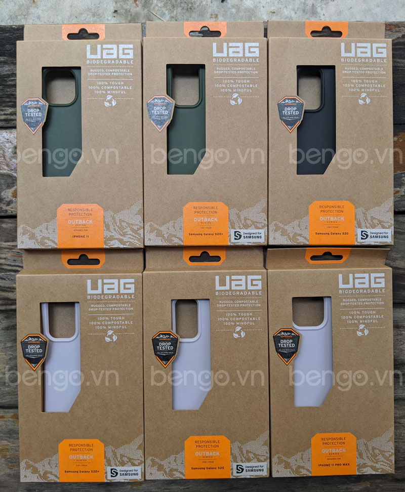 Op lung UAG Biodegradable Outback