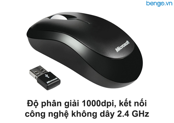 Bộ bàn phím, chuột không dây Microsoft Wireless Desktop 850