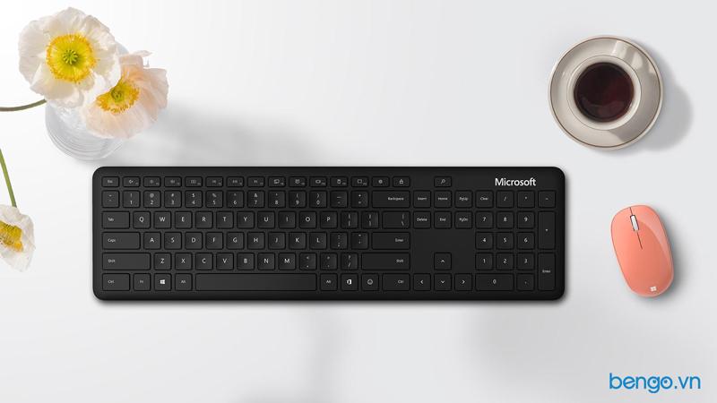 Bàn phím không dây Microsoft Bluetooth® Desktop - QHG-00017