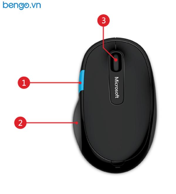 Chuột không dây Microsoft Bluetooth Sculpt Comfort