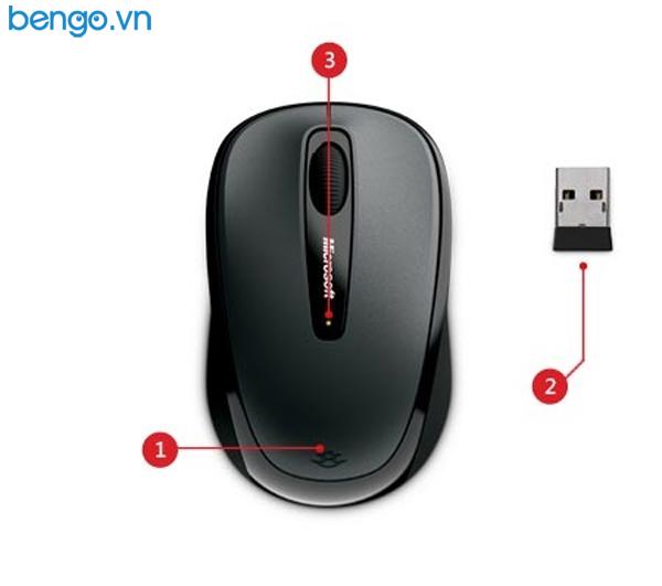 Chuột không dây Microsoft Wireless Mobile 3500