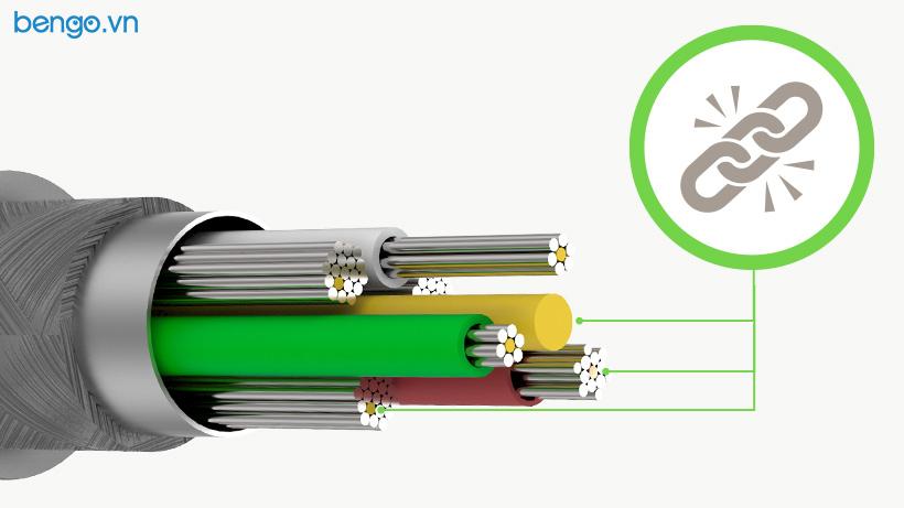 Cáp Sạc nhanh Belkin BOOST↑CHARGE™ USB-C to Lightning