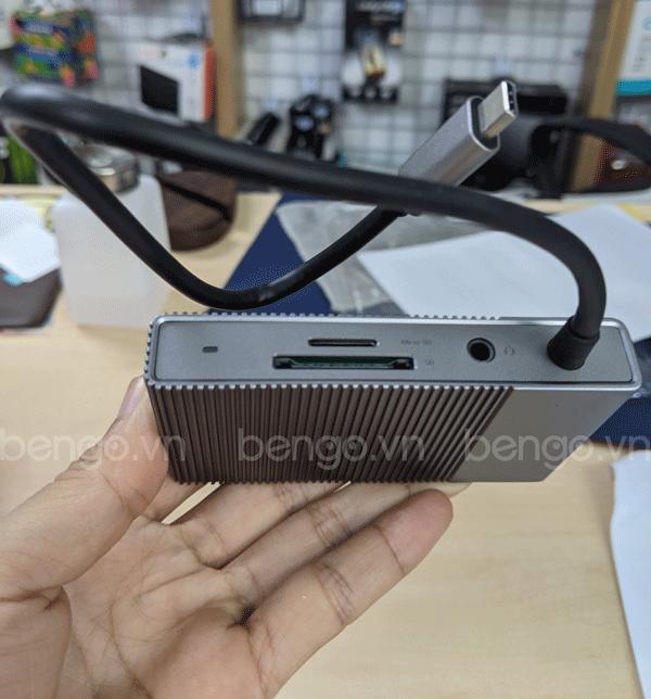 Cổng chuyển HyperDrive Gen2 6 in 1 USB-C Hub cho Macbook, iPad Pro 2018/2020, PC & Devices - G206