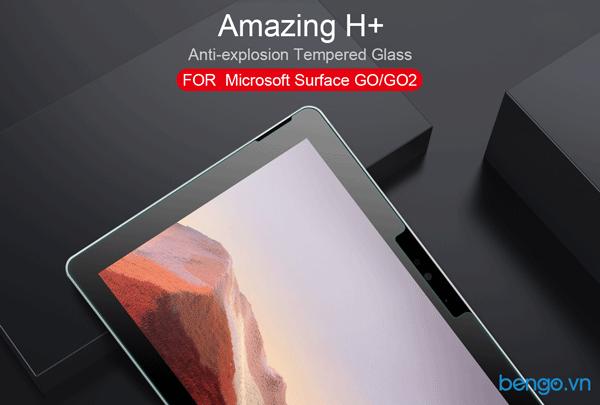 Dán màn hình cường lực Microsoft Surface Go 2 Nillkin Amazing H+