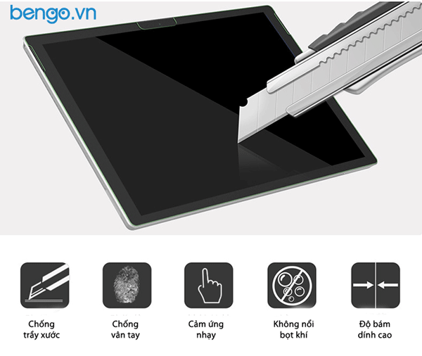 Dán màn hình Microsoft Surface Pro 7 Paper-like chống nhìn trộm