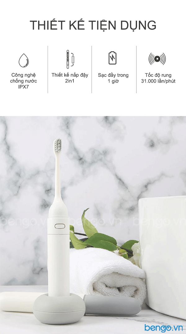 Bàn chải điện thông minh Mipow N2 Sonic (FDA USA)