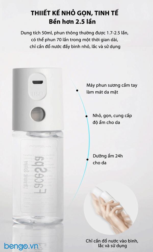 Máy phun sương Mipow FaceSpa chăm sóc và làm mát da mặt - BI300