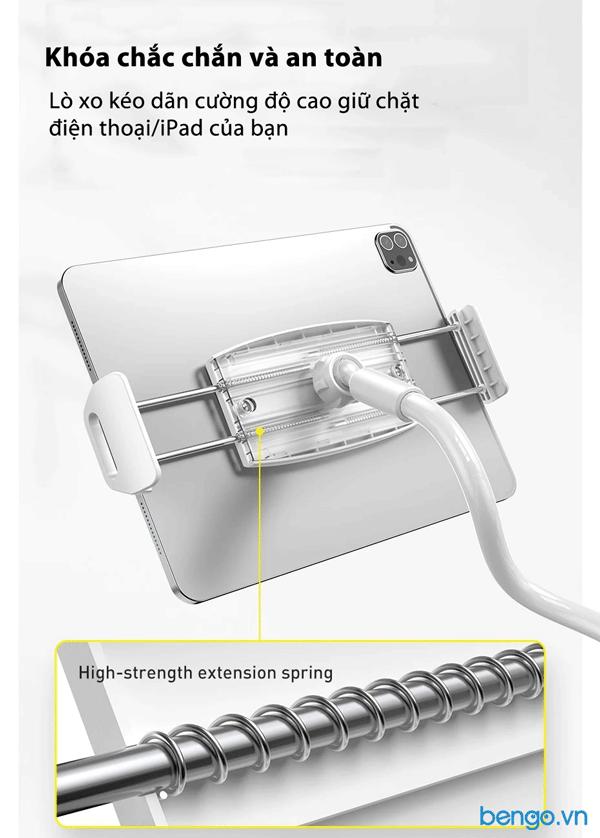 Giá đỡ chân kẹp điện thoại, tablet Baseus Otaku Life Rotary Adjustment Lazy holder