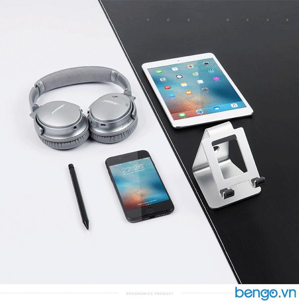 Giá đỡ điện thoại, tablet bằng nhôm LARICARE - AP-4SL