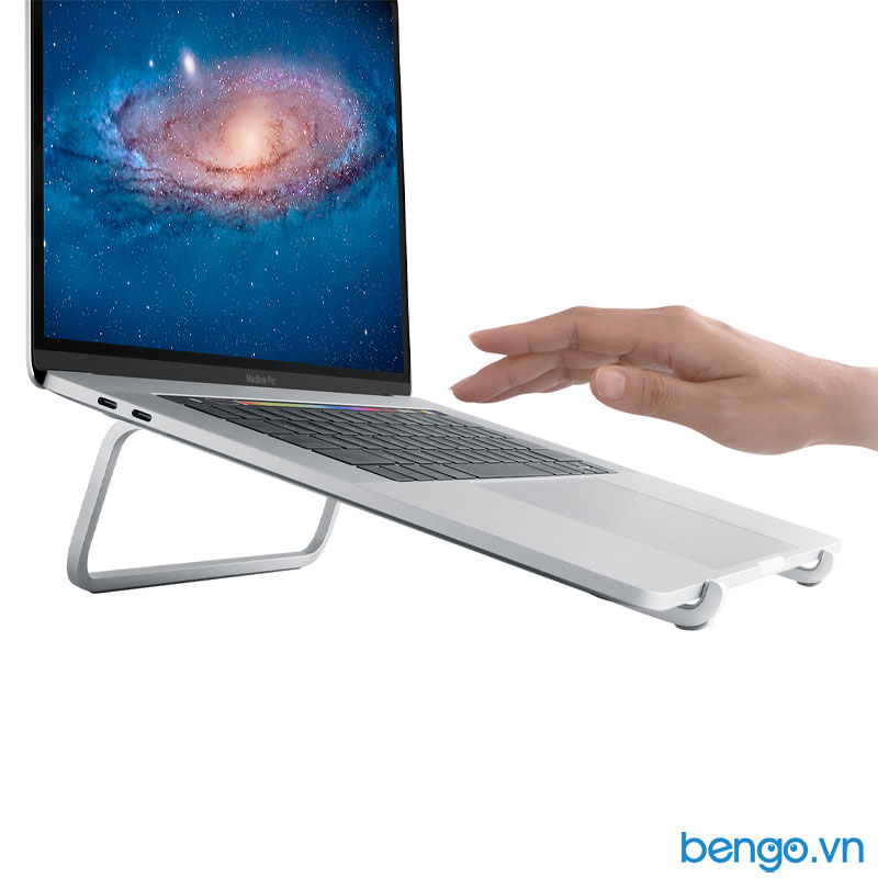 Đế dựng MacBook, Laptop Rain Design mBar nâng Macbook lên 75mm