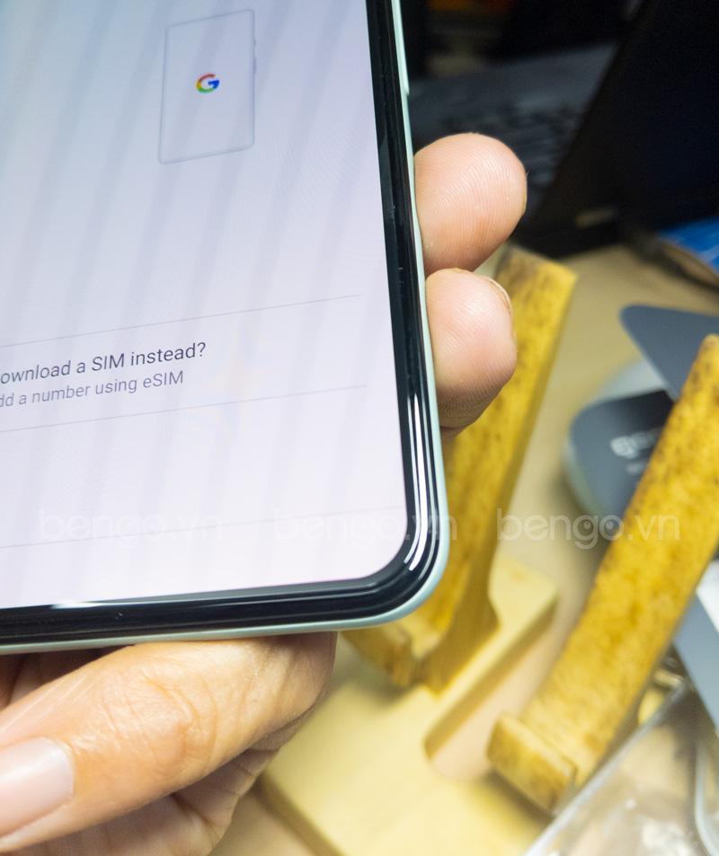 Dán cường lực Google Pixel 5 GOR Full keo và từ tính (Hộp 2 miếng)