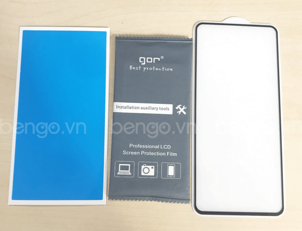 Dán cường lực Samsung Galaxy Note 10 Lite GOR Full keo và từ tính
