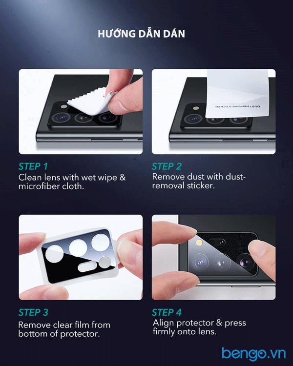 Dán cường lực bảo vệ Samsung Galaxy Note 20 Ultra/Note 20 ESR (Hộp 2 miếng)