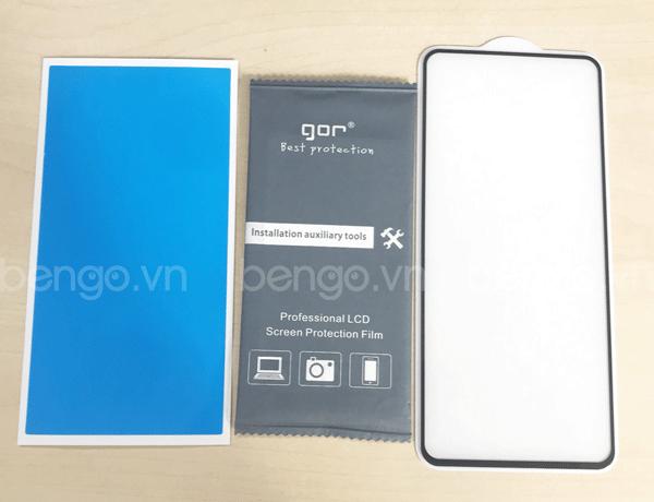 Dán cường lực Samsung Galaxy S10 Lite GOR Full keo và từ tính