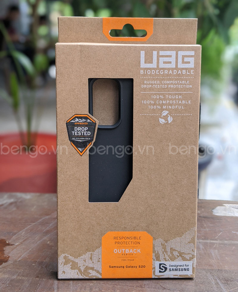 Ốp lưng UAG Biodegradable Outback Samsung Galaxy S20