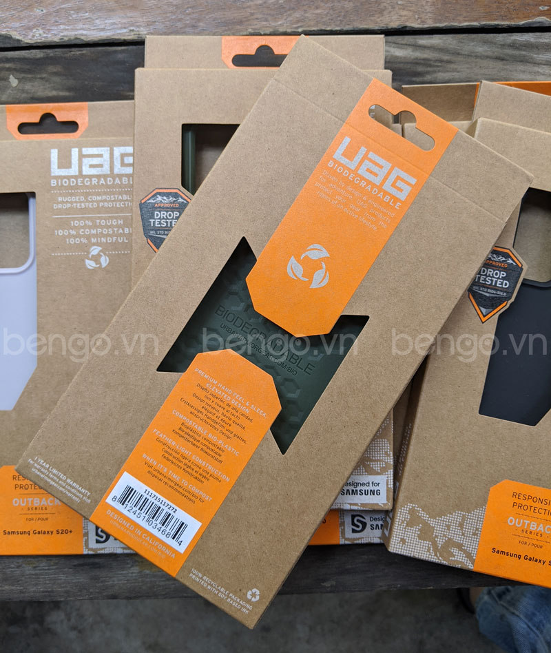 Ốp lưng UAG Biodegradable Outback cho S20