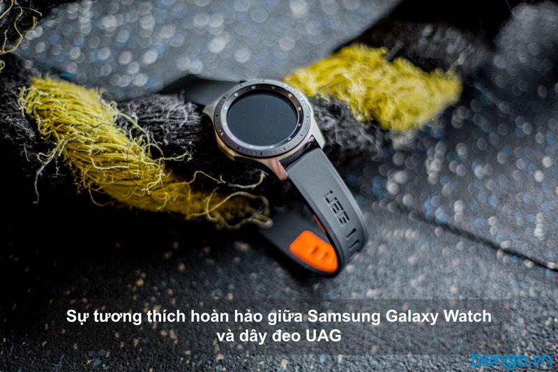 Dây đeo Samsung Galaxy Watch 46mm UAG Civilian Silicone