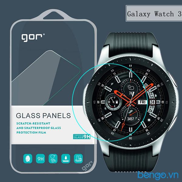 Dán màn hình Samsung Galaxy Watch 3 45mm cường lực GOR (Hộp 3 miếng)