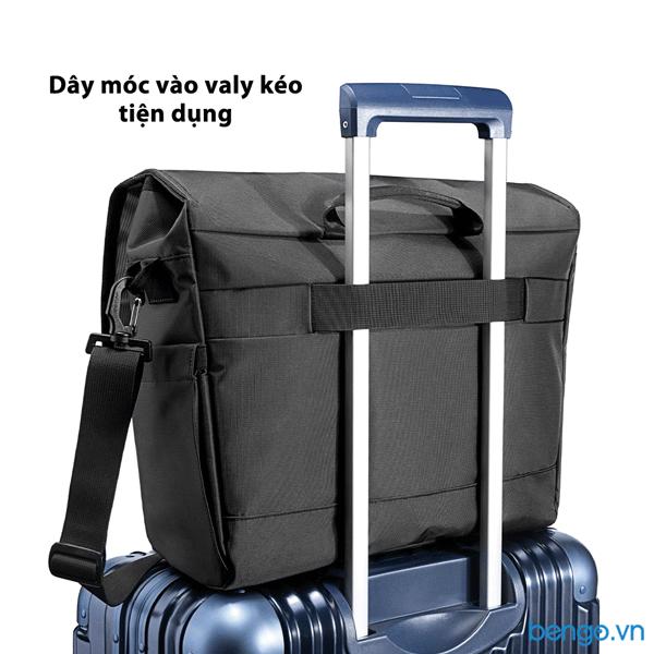 "Túi đeo vai Laptop 15.6"" TOMTOC (USA) Cross Body Messenger Multi-Function - A47-E01D"