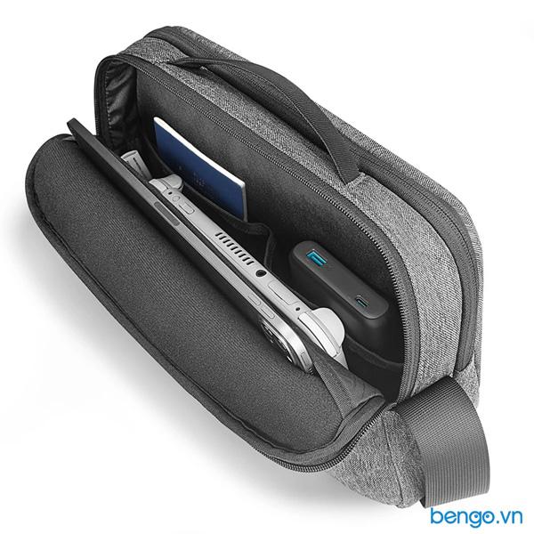 "Túi đeo chéo TOMTOC (USA) Urban Commute Crossbody cho iPad/Tablet/Notebook 11"" - H02-A01G"