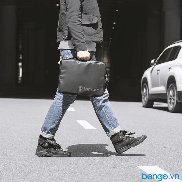 "Túi chống sốc MacBook/Laptop 13"" TOMTOC (USA) Premium Urban Shoulder Bags"