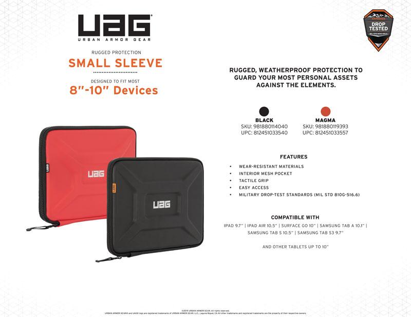 Thông số kỹ thuật túi chống sốc UAG