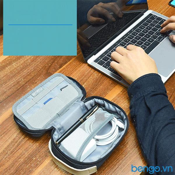 Túi phụ kiện WiWU Cozy Storage Bag nhỏ gọn, chống nước